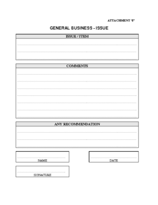 AGM – General Business