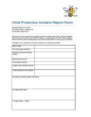 child-protection-incident-report-form