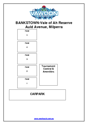 Field Layout – Bankstown