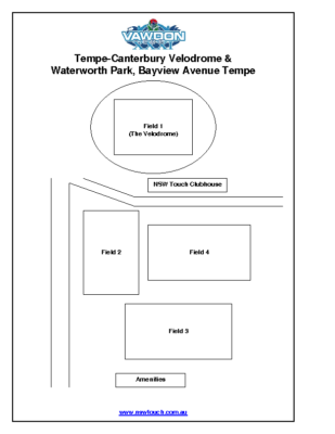 Field Layout – Tempe