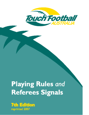 TFA Touch Rule Book 7th Edition
