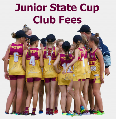 Junior State Cup Fees