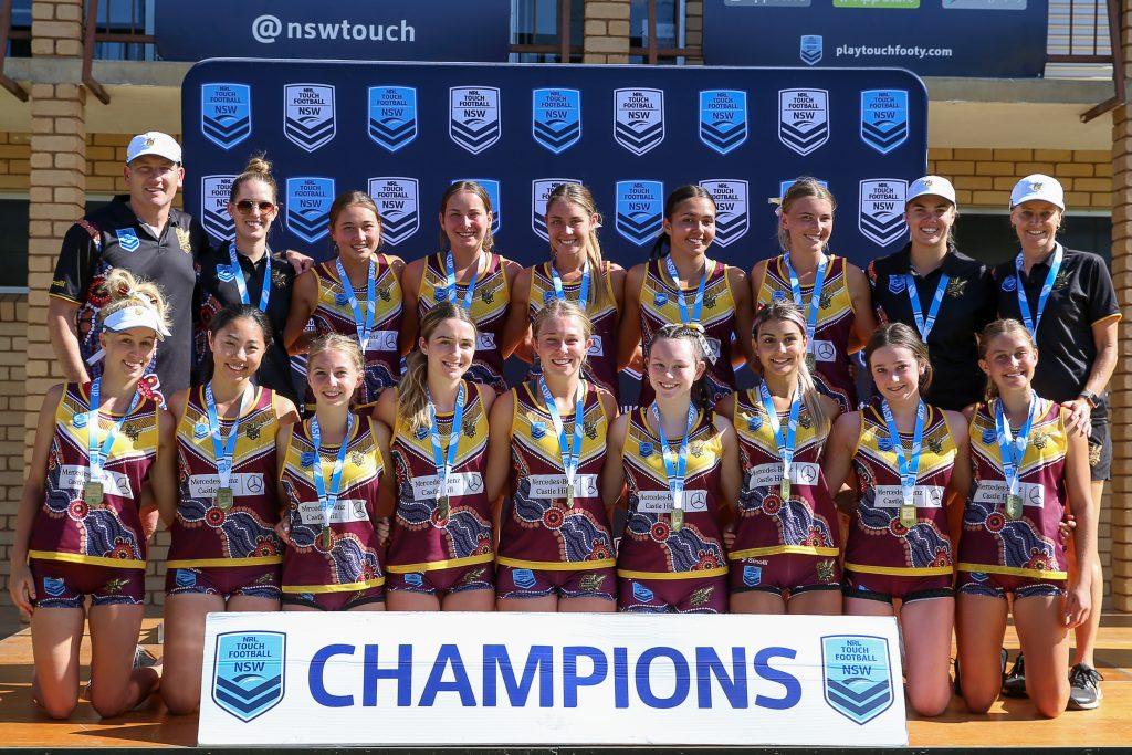 Hornets U18 Girls Champions